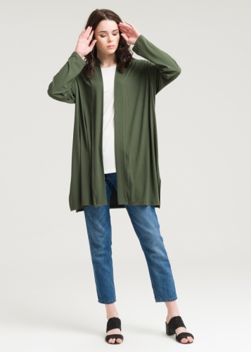 601 Long Sleeve Combed Jacket