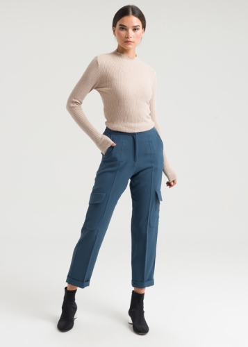 Trousers With Double Edges
