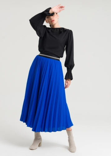 Skirt With Creases