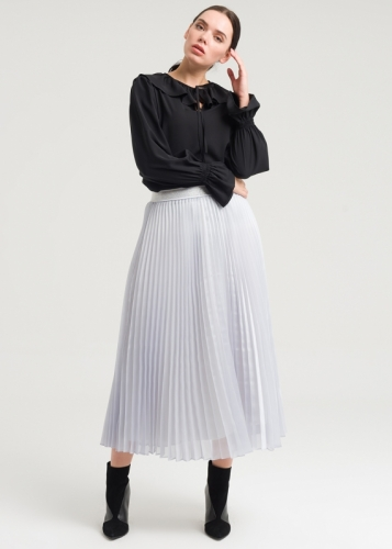 Organza Skirt With Creases