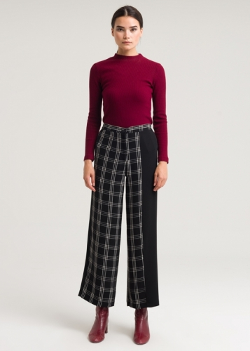 Wide Trousers From The Edge