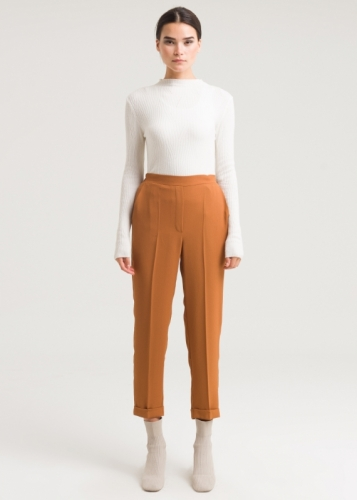 Classic Trousers With Double Edge