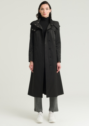 Arman Trench Coat with Classic Hat