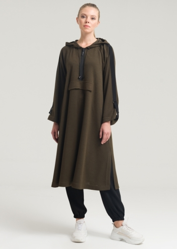 Knitwear Tunic With Grogren Tape