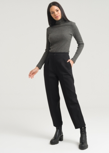 Comfortable Trousers With A Pocket