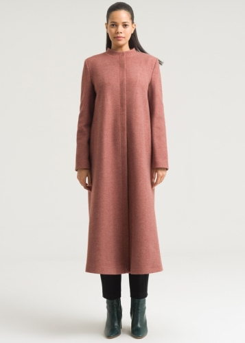 Coat with Hakim collar