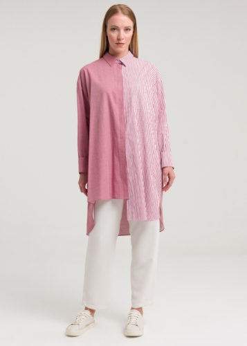 Asymmetric Tunic Detailed Line