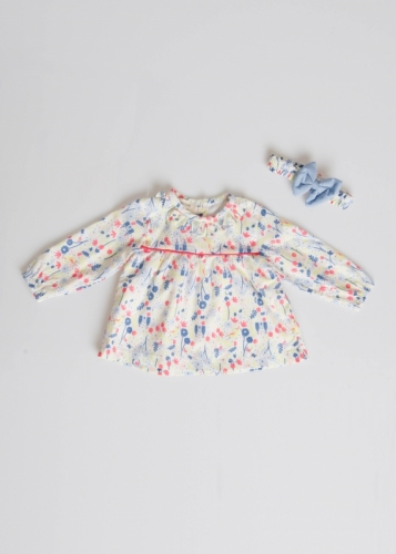 Baby Girl Blouse With Robes