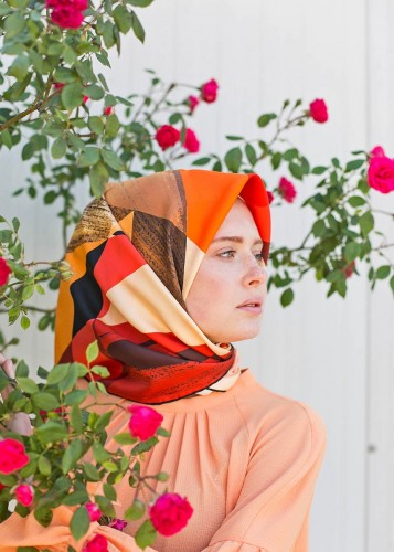 Silk Headscarf    CFR142 V8