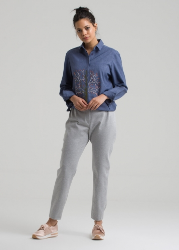 Pleated   Sport Pants