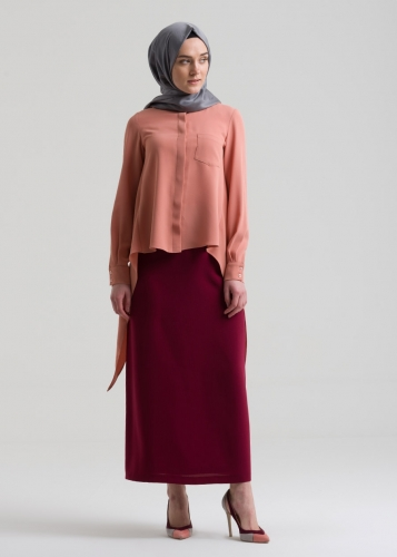 Armagan Pencil   Skirt