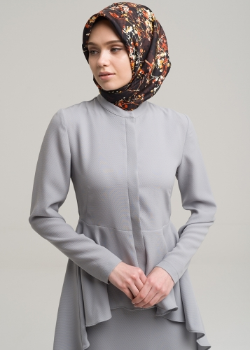 Assimetric  Narrow Blouse