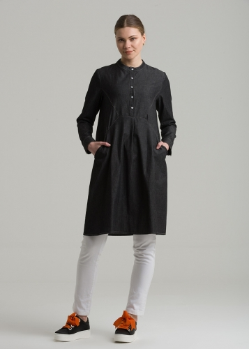 Yoke- Pocket Tensel  Tunic