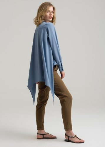 Back Asymmetric  Tunic