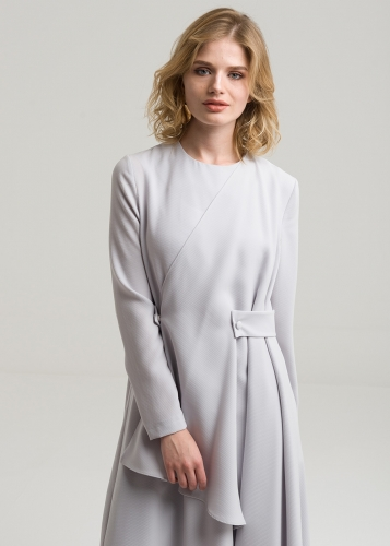 Double Breasted  Belted Tunic