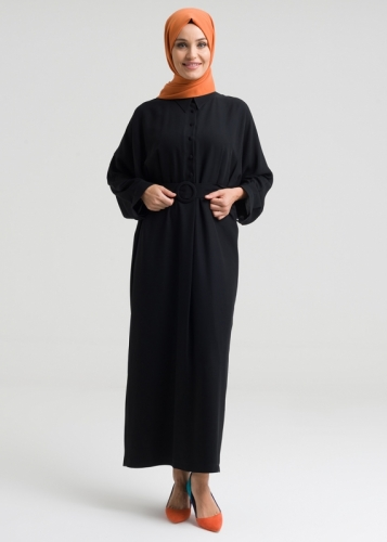 Buckle Arched Dress - Wider arm