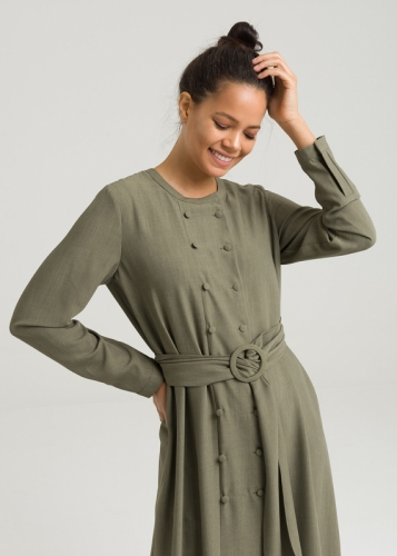 Wide Belt  Details Tunic