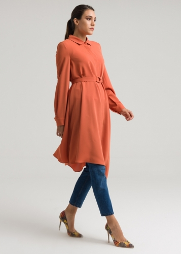 Belted - Assimetric Tunic