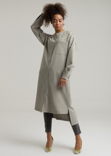 Pearl - Pucket Asymmetric Tunic