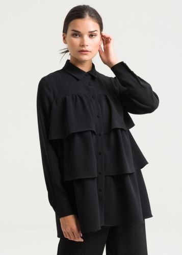 Buttoned Style Blouse
