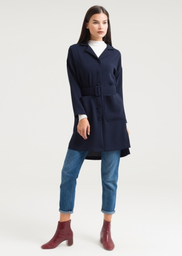 Pocket- Buttoned Tunic