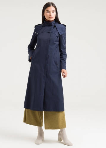 Armagan Classical Hooded Trenccoat