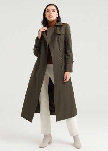 Double Button Aller  Tranchcoat