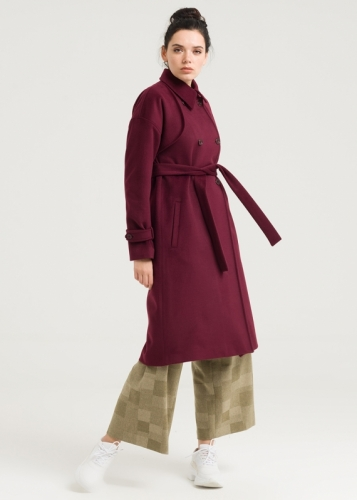 Low-Arm Double-Decker Coat