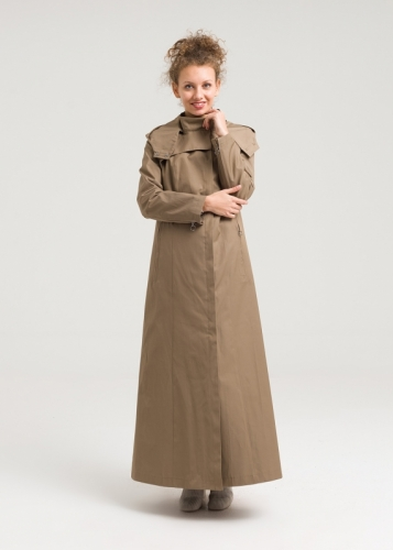 Armagan Classic Hooded Topcoat