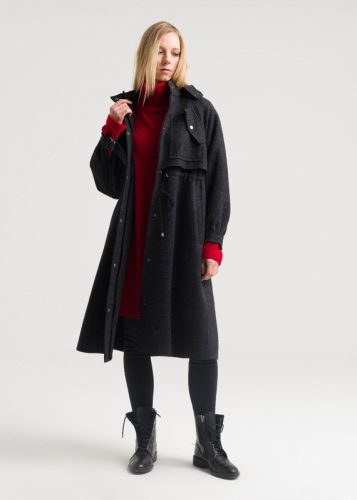 Winter Coat With Hat