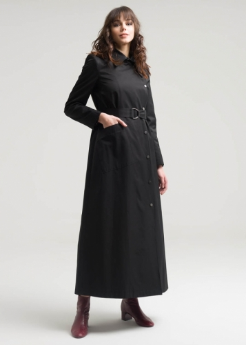 Coat With A Belt