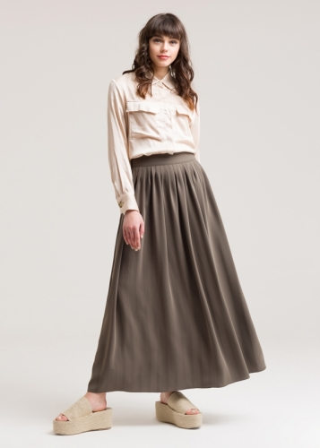 Klush Skirt With Pennies
