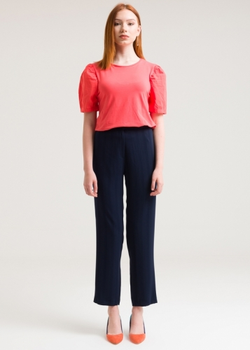Tube-Shaped Trousers