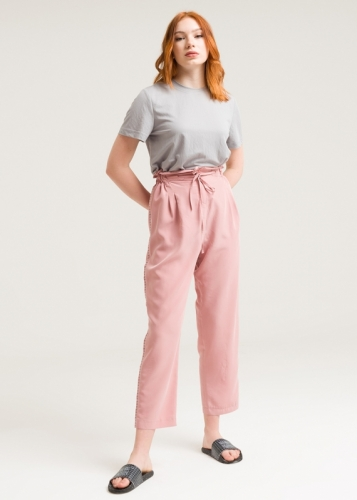 Trousers With High Waist